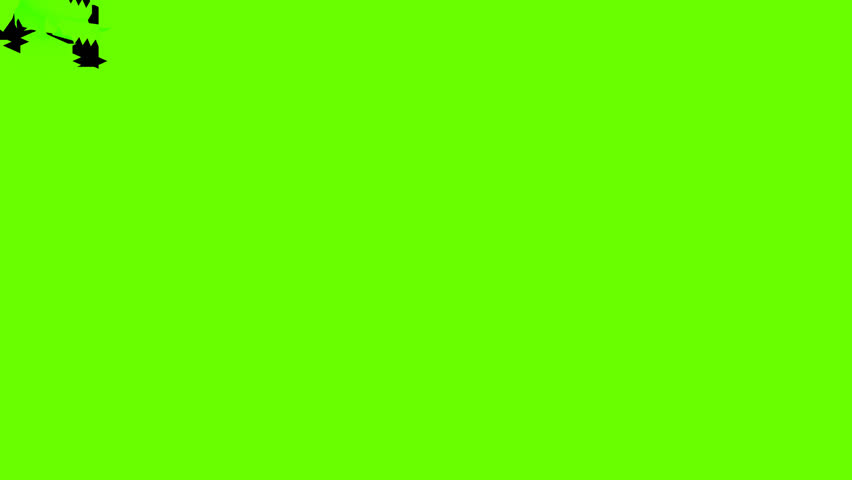 Animated crumbling, dissolving, breaking apart wall of green screen from top to bottom - fast. Length 3s, Large pieces. Great for video transition effects. Alpha channel embedded with HD PNG file. | Shutterstock HD Video #8203258