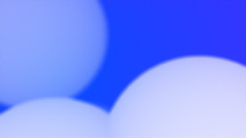 White spheres on blue background. Loop. | Shutterstock HD Video #8264707