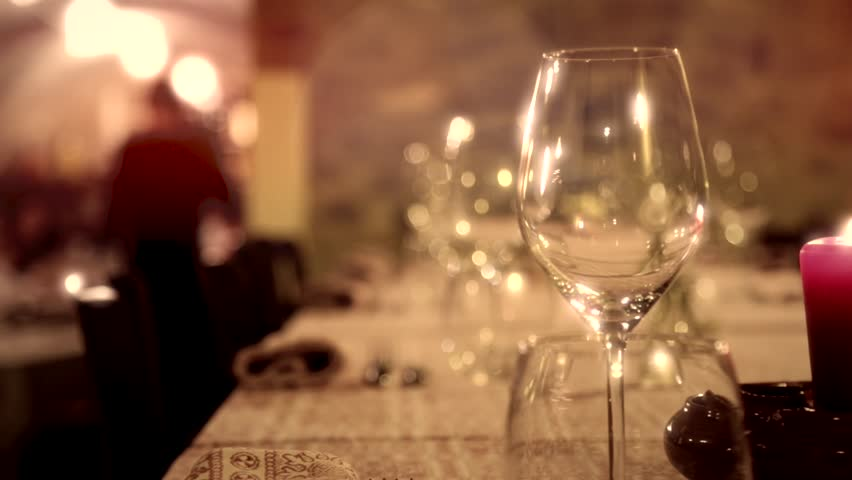 Dinner Table Background dinner table setting stock footage video | shutterstock