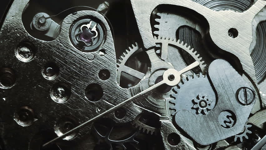Watch mechanism macro | Shutterstock HD Video #8398537