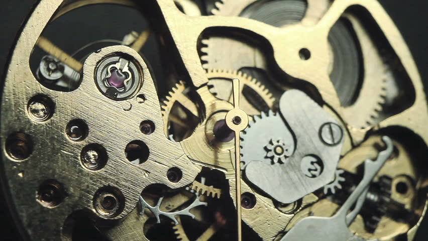 Watch mechanism macro loop | Shutterstock HD Video #8399647