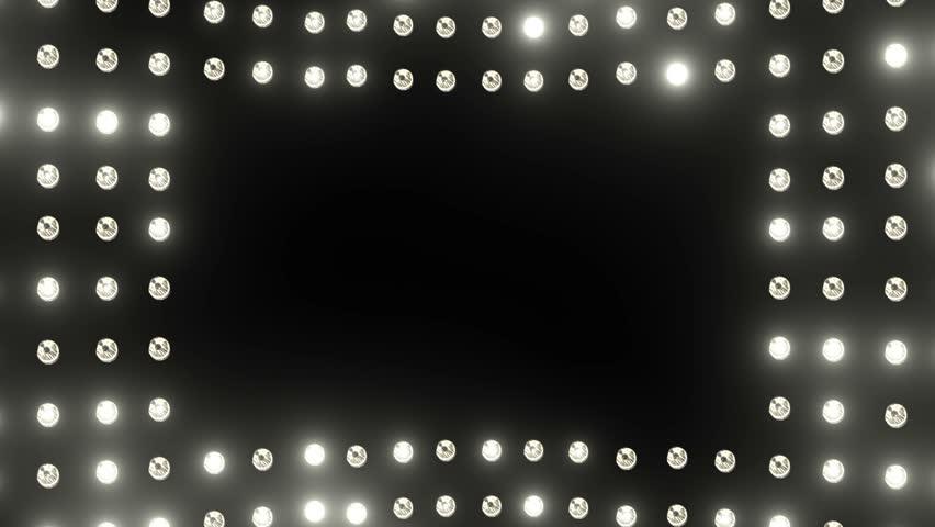 Glow Light Border Stock Footage Video 100 Royalty Free 8419027 Shutterstock