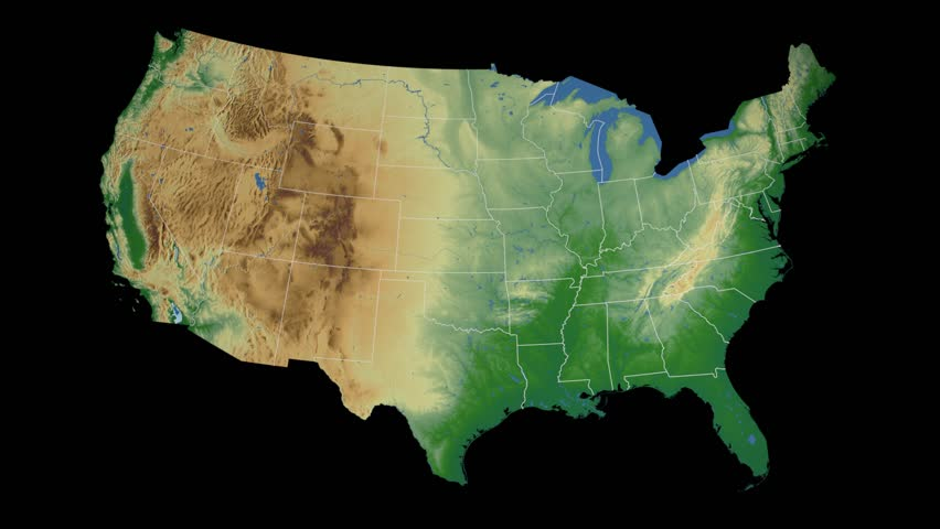 S An Animated Map Visualization Shows The Dew Point Across - Us dewpoint map