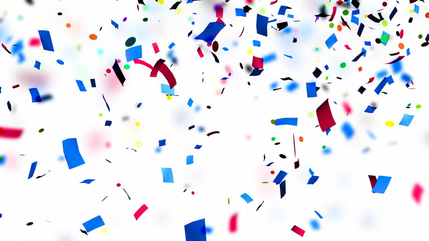 Multi Colored Confetti Falling Holiday Abstract Background Stock Footage Video 8555707 Shutterstock