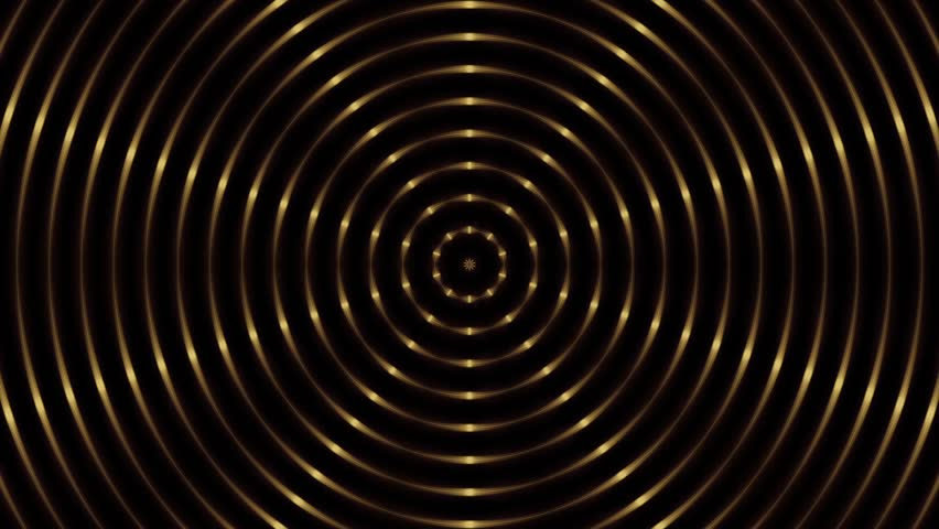 Gold circle line, abstract loop motion background | Shutterstock HD Video #8570827
