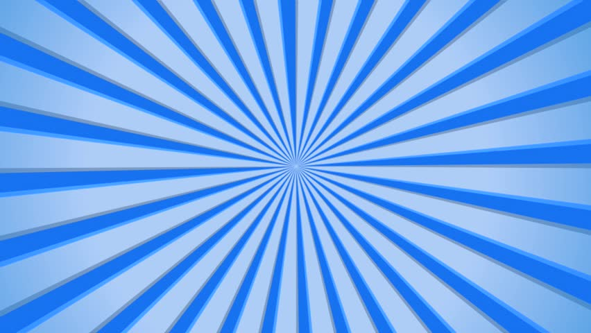 Cartoon Sun burst seamless motion background, Full HD 1920x1080 interlaced