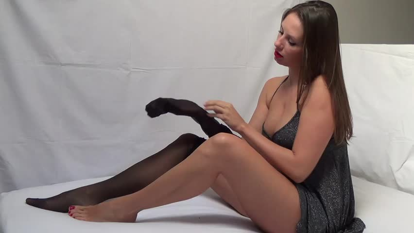 Pantyhose video clips