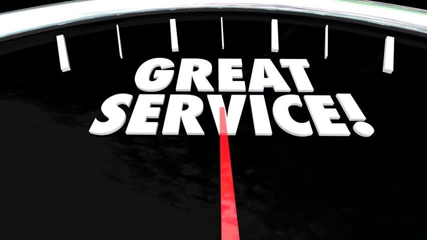 Listen to Customers Anticipate Needs Above Beyond Great Service Speedometer | Shutterstock HD Video #8720302