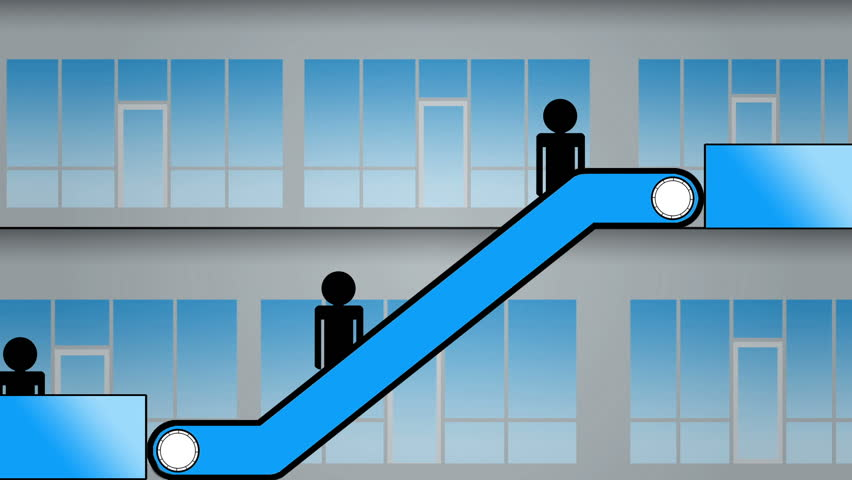 Escalator animation going up seamless loop stock footage video 8743657 shutterstock