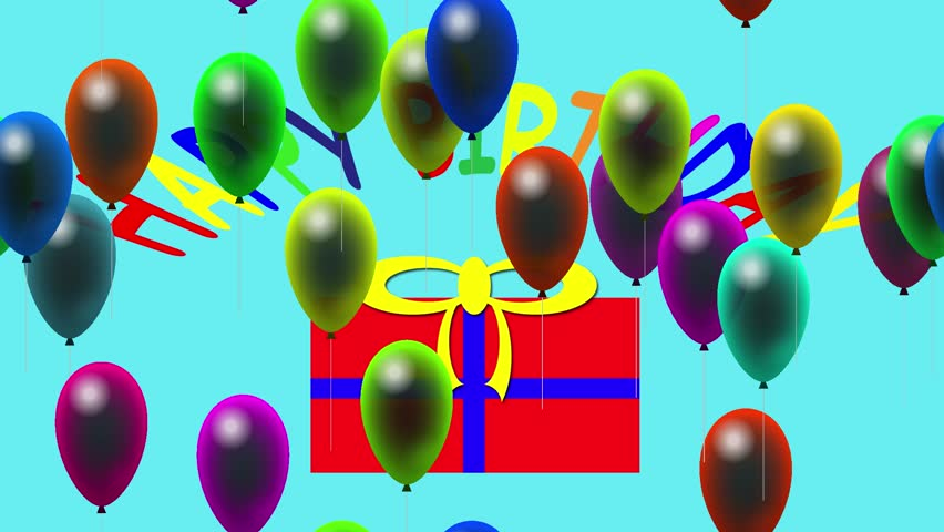 Stock Video Clip of Happy birthday full HD 1920 x 1080 Shutterstock