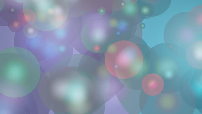 Multicolored Glowing Circles Abstract Motion Background Loop | Shutterstock HD Video #8813107