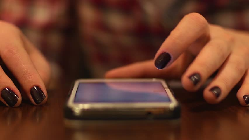 Sliding smart phone touch screen   Shutterstock HD Video #8823637