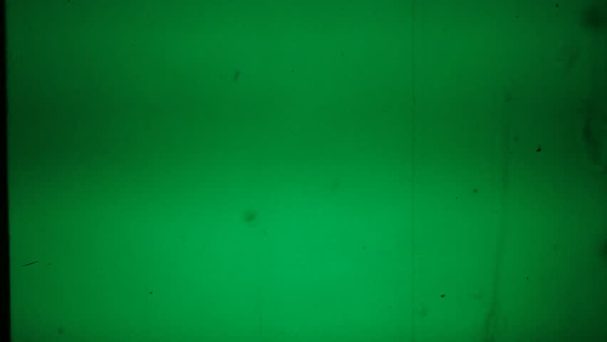Green screen overlay keyable 8mm old film dirt and grain