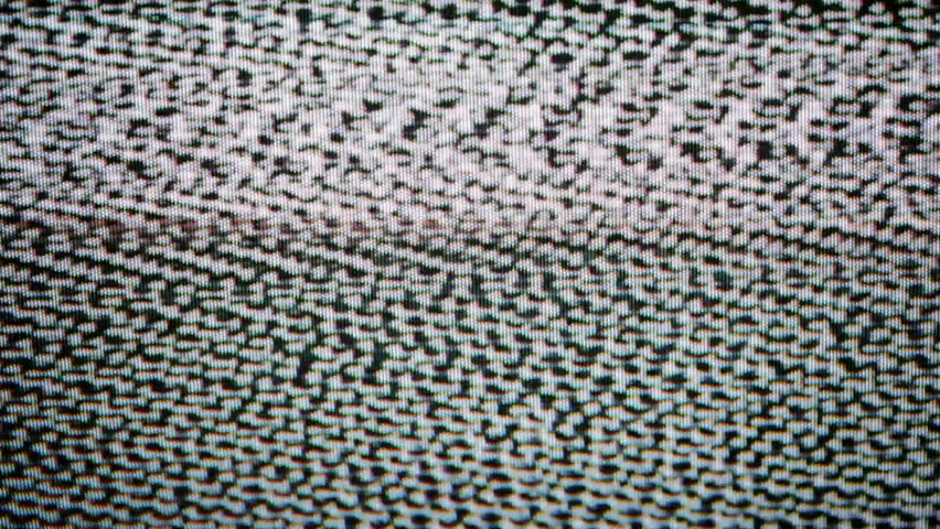 Tv Interference Stock Footage Video 100 Royalty Free 9028957