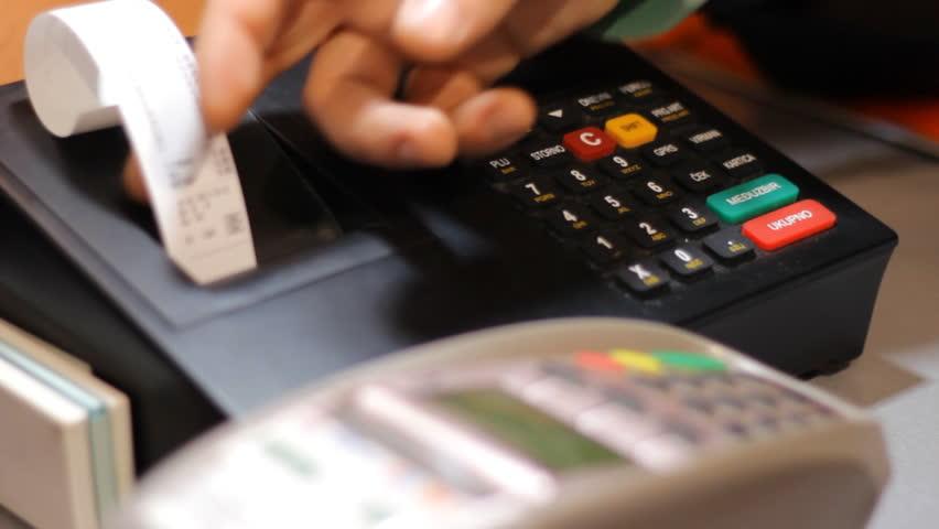 Cash register  | Shutterstock HD Video #9084677