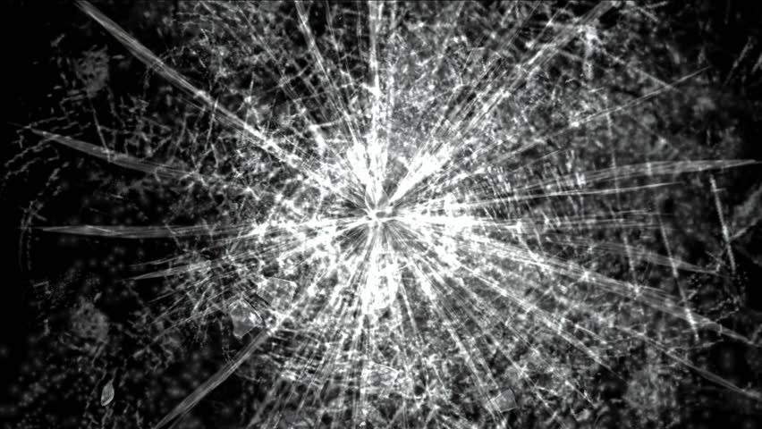 4k accident impact traces background,broken cracked damaged glass backdrop,boxing punch hit ice windows. 0503_4k