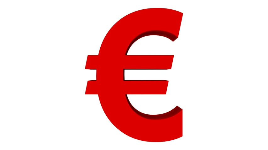 Red Euro Symbol Clipart Library