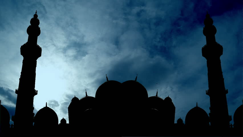 Time lapse Mosque