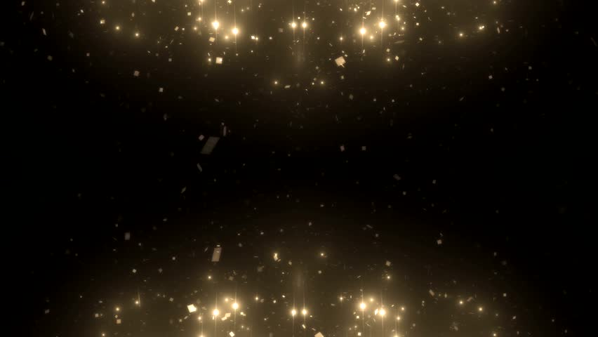 Fractal gold kaleidoscopic background. Background motion with fractal design. Disco spectrum lights concert spot bulb. More sets footage in my portfolio