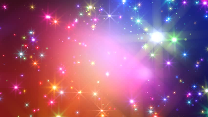 Colorful Sparkling Background Stock Footage Video 100