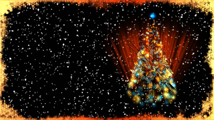 Stock video of christmas card with xmas tree 941482 shutterstock related video keywords m4hsunfo