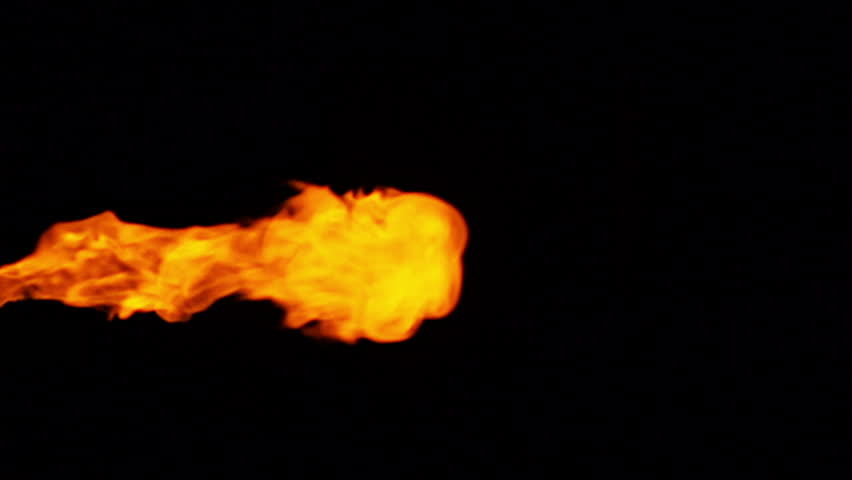 flame (slow-motion)