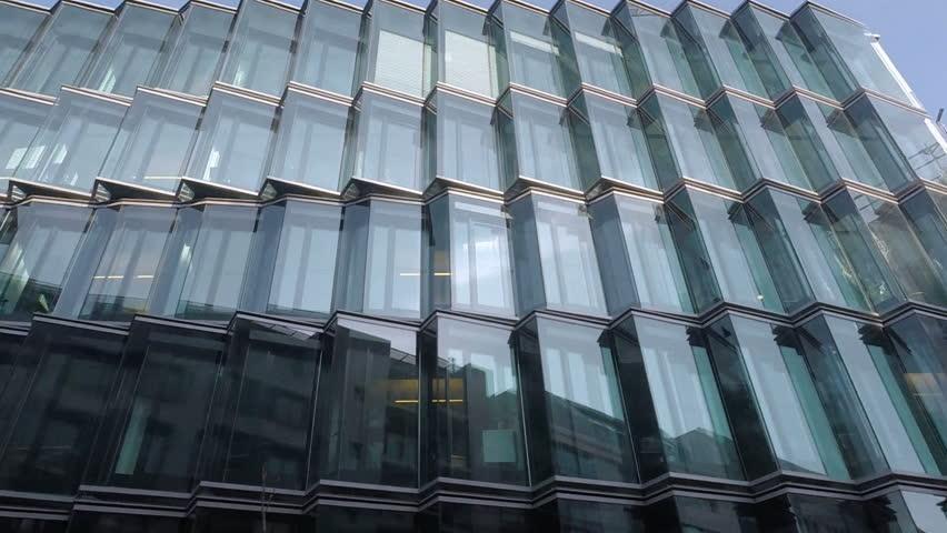Glass windows on wilhelmstrasse 66    Shutterstock HD Video #9480017
