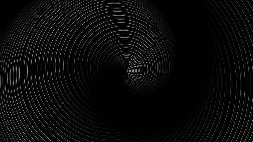 Spiral Slow flowing black and white particle vector abstract background Computer Designed Animation - uhd ultra hd 4k 4096 quad. | Shutterstock HD Video #9701837