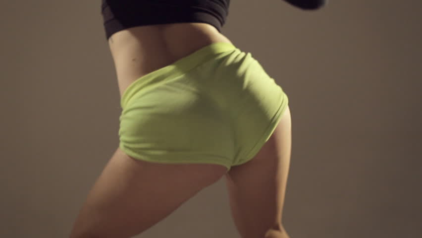Twerking In Short Shorts