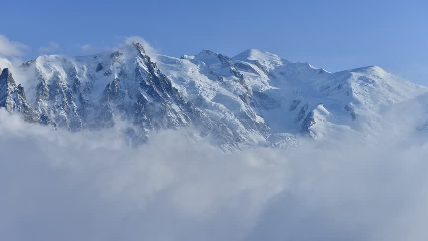 Mont Blanc and Alps