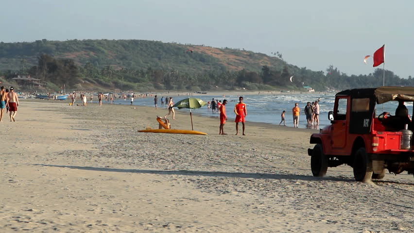 Goa Beach Hd Images: February 27, Stock Footage Video (100