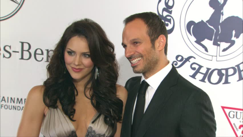 Beverly Hills, CA - October 28,2006: Katharine McPhee and Nick Cokas at Carousel of Hope Ball 2006, Beverly Hilton Hotel