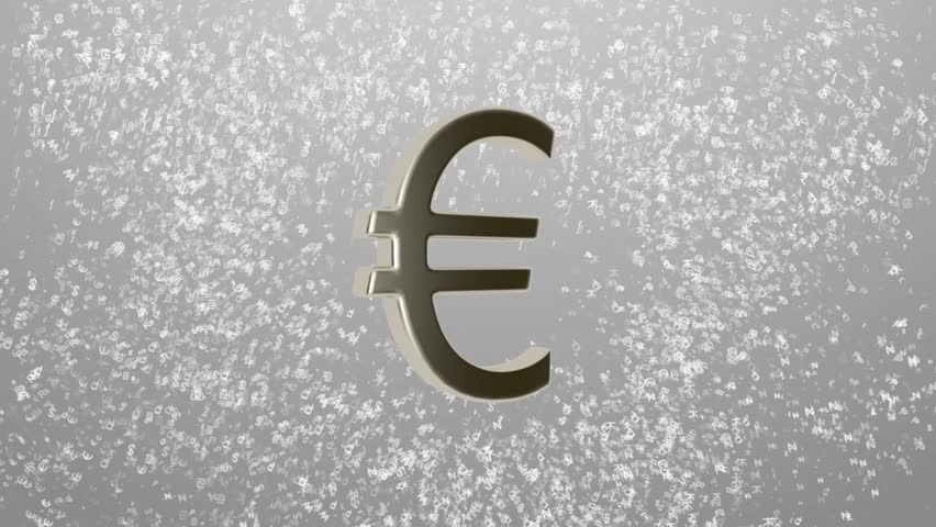 Stock Video Clip Of Background Of Different Currencies Symbols