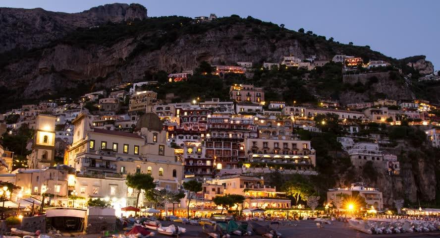 Famous Italian Architecture amalfi positano italy travel tourism mediterranean sea coast water