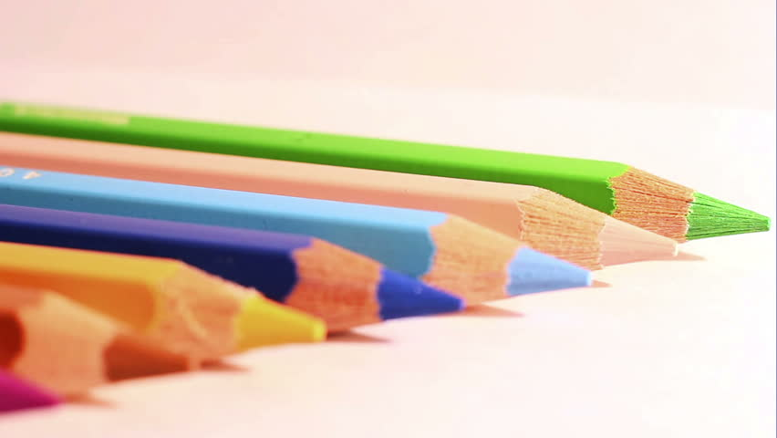 The Colored Pencils 7 | Shutterstock HD Video #9959447
